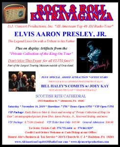 Elvis Aaron Presley Jr. Comes to the Lehigh Valley!